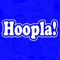 Hoopla Square Logo Blue